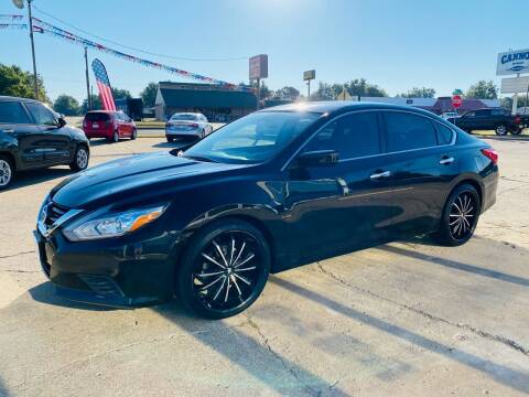 2017 Nissan Altima for sale at Pioneer Auto in Ponca City OK