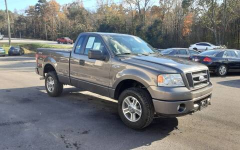 2008 Ford F-150 for sale at Mathews Used Cars, Inc. in Crawford GA