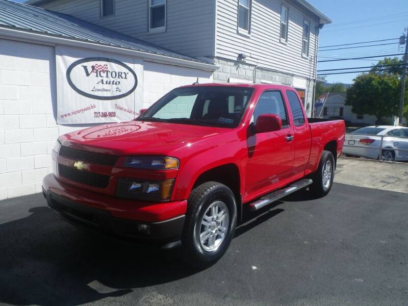 2012 Chevrolet Colorado for sale at VICTORY AUTO in Lewistown PA