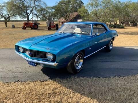 1969 Chevrolet Camaro for sale at STREET DREAMS TEXAS in Fredericksburg TX