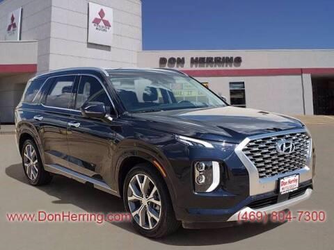 2021 Hyundai Palisade for sale at DON HERRING MITSUBISHI in Irving TX