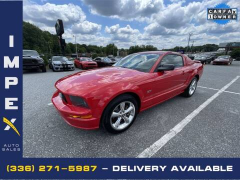 2006 Ford Mustang for sale at Impex Auto Sales in Greensboro NC