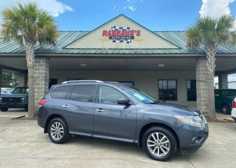 2013 Nissan Pathfinder for sale at Rabeaux's Auto Sales in Lafayette LA