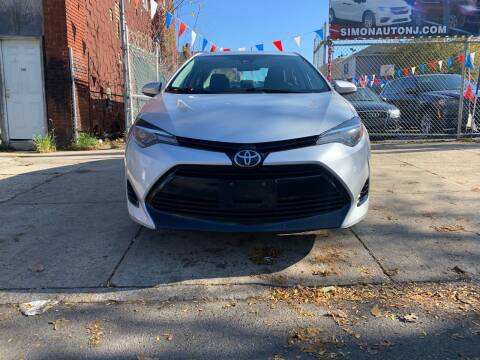 2017 Toyota Corolla for sale at Simon Auto Group in Newark NJ