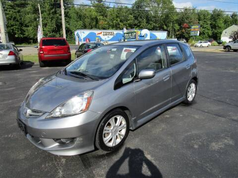 2009 Honda Fit for sale at Route 12 Auto Sales in Leominster MA