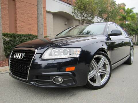 2011 Audi A6 for sale at FLORIDACARSTOGO in West Palm Beach FL