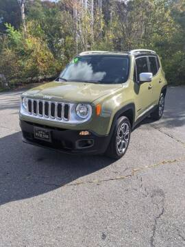 2015 Jeep Renegade for sale at WEB NIK Motors in Fitchburg MA
