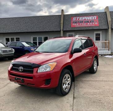 2011 Toyota RAV4 for sale at Stephen Motor Sales LLC in Caldwell OH