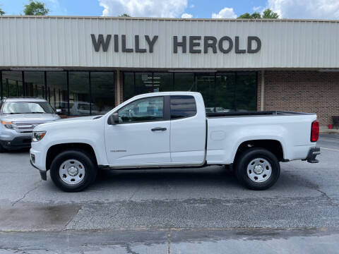 2015 Chevrolet Colorado for sale at Willy Herold Automotive in Columbus GA