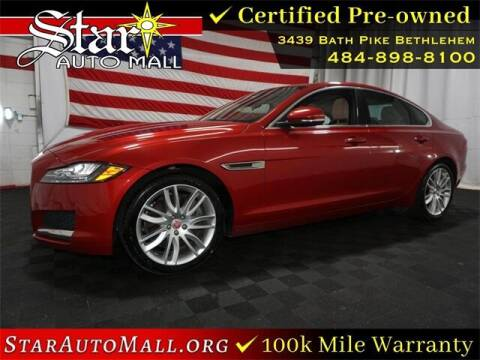 2016 Jaguar XF for sale at STAR AUTO MALL 512 in Bethlehem PA