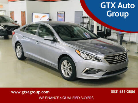2015 Hyundai Sonata for sale at GTX Auto Group in West Chester OH