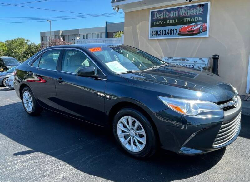 2017 Toyota Camry for sale at DEALZ ON WHEELZ in Winchester VA
