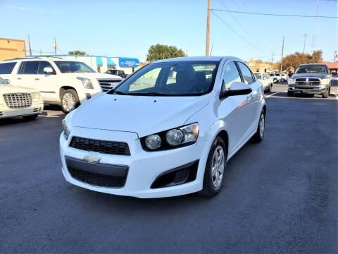 2016 Chevrolet Sonic for sale at Image Auto Sales in Dallas TX