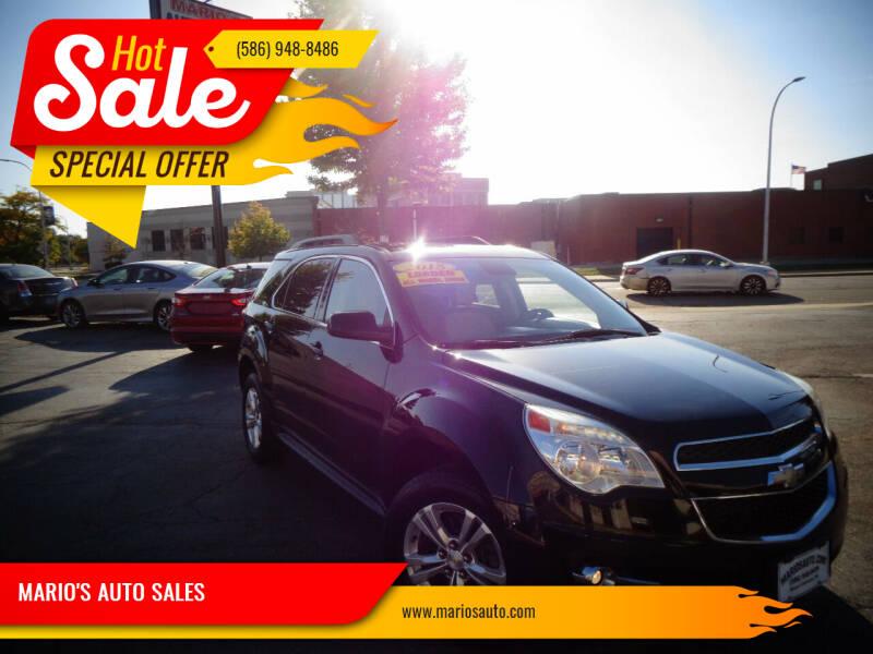 2015 Chevrolet Equinox for sale at MARIO'S AUTO SALES in Mount Clemens MI