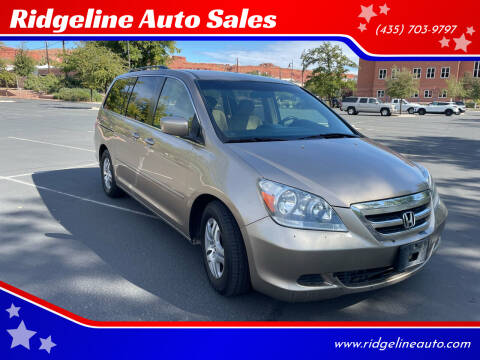 2006 Honda Odyssey for sale at Ridgeline Auto Sales in Saint George UT