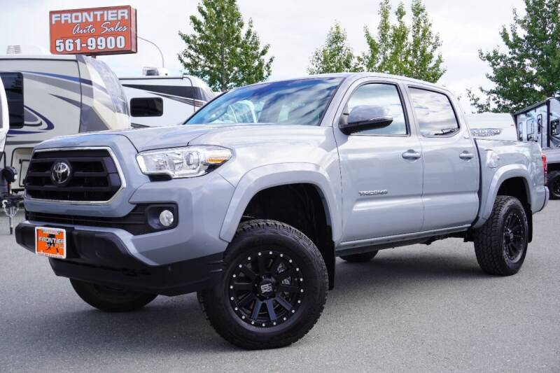 2021 Toyota Tacoma for sale at Frontier Auto & RV Sales in Anchorage AK