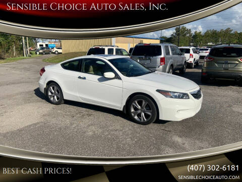 2012 Honda Accord for sale at Sensible Choice Auto Sales, Inc. in Longwood FL