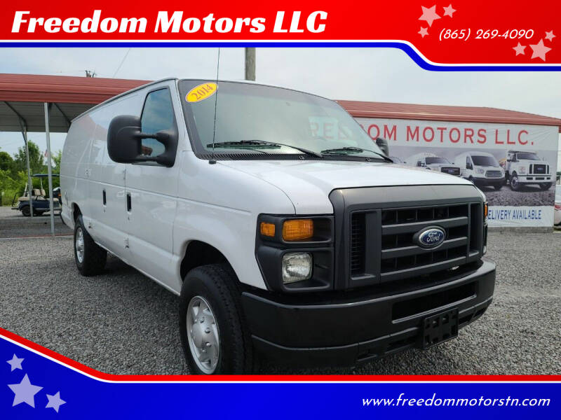 2014 Ford E-Series Cargo for sale at Freedom Motors LLC in Knoxville TN