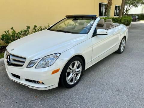 2011 Mercedes-Benz E-Class for sale at DENMARK AUTO BROKERS in Riviera Beach FL