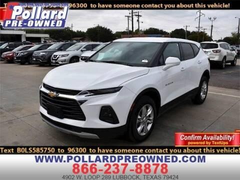 2020 Chevrolet Blazer for sale at South Plains Autoplex by RANDY BUCHANAN in Lubbock TX