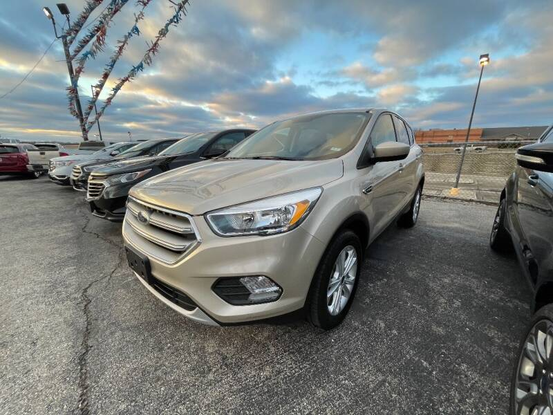 2017 Ford Escape for sale at Greg's Auto Sales in Poplar Bluff MO