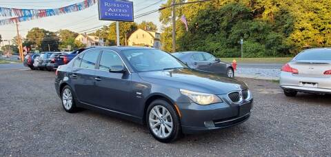 2009 BMW 5 Series for sale at Russo's Auto Exchange LLC in Enfield CT