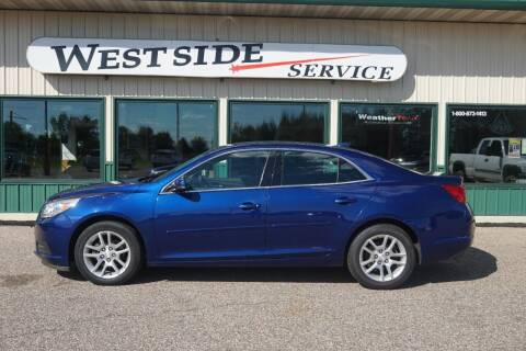 2013 Chevrolet Malibu for sale at West Side Service in Auburndale WI
