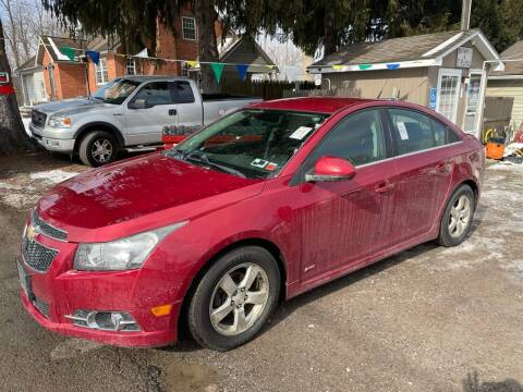 2014 Chevrolet Cruze for sale at Trocci's Auto Sales in West Pittsburg PA