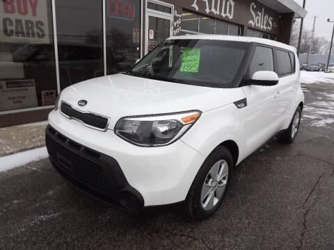 2014 Kia Soul for sale at Arko Auto Sales in Eastlake OH