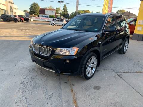 2012 BMW X3 for sale at Adams Motors INC. in Inwood NY
