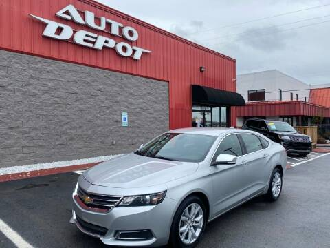 2016 Chevrolet Impala for sale at Auto Depot - Nashville in Nashville TN