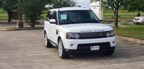 2012 Land Rover Range Rover Sport for sale at America's Auto Financial in Houston TX