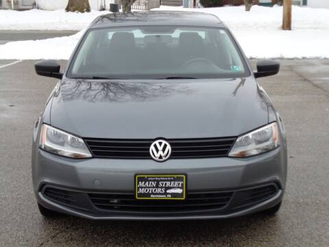 2014 Volkswagen Jetta for sale at MAIN STREET MOTORS in Norristown PA