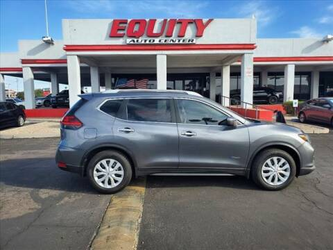 2017 Nissan Rogue Hybrid for sale at EQUITY AUTO CENTER in Phoenix AZ