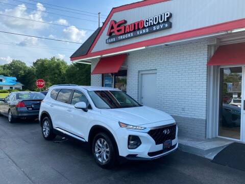 2019 Hyundai Santa Fe for sale at AG AUTOGROUP in Vineland NJ