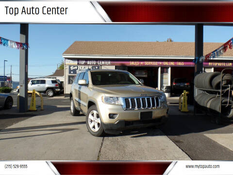 2012 Jeep Grand Cherokee for sale at Top Auto Center in Quakertown PA
