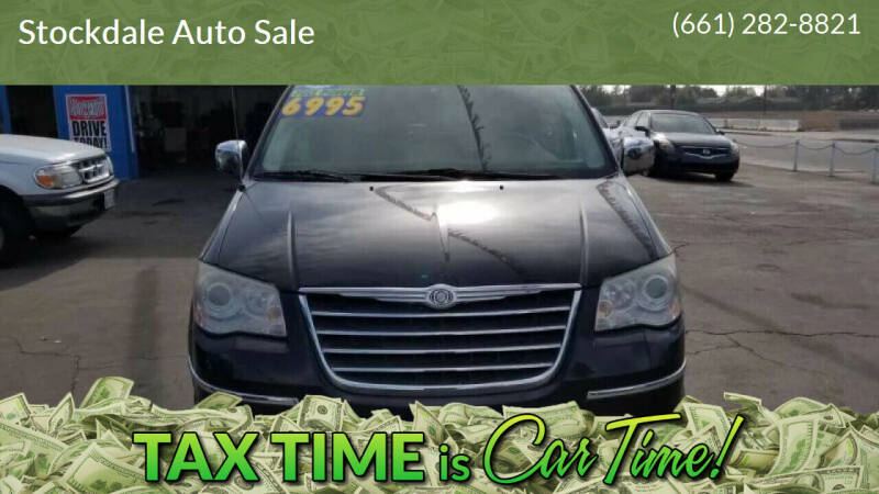 2008 Chrysler Town and Country for sale at Stockdale Auto Sale in Bakersfield CA