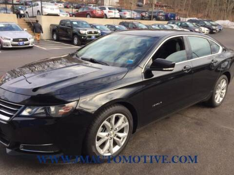 2016 Chevrolet Impala for sale at J & M Automotive in Naugatuck CT