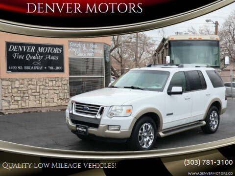 2006 Ford Explorer for sale at DENVER MOTORS in Englewood CO