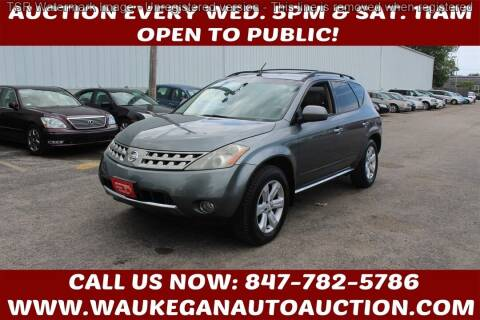 2006 Nissan Murano for sale at Waukegan Auto Auction in Waukegan IL