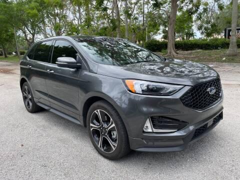 2020 Ford Edge for sale at DELRAY AUTO MALL in Delray Beach FL