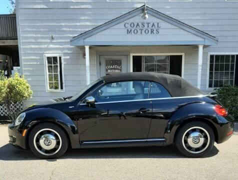 2013 Volkswagen Beetle Convertible for sale at Coastal Motors in Buzzards Bay MA