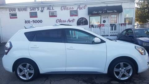 2009 Pontiac Vibe for sale at Class Act Motors Inc in Providence RI