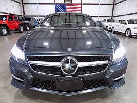 2012 Mercedes-Benz CLS for sale at Texas Motor Sport in Houston TX
