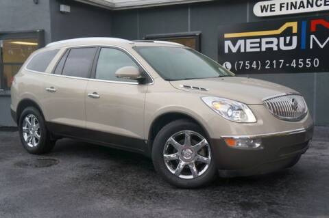 2009 Buick Enclave for sale at Meru Motors in Hollywood FL