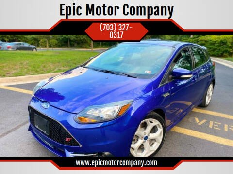 2014 Ford Focus for sale at Epic Motor Company in Chantilly VA