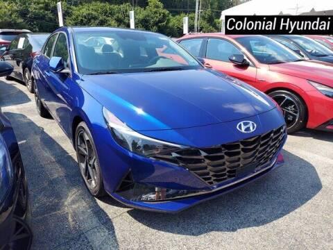 2022 Hyundai Elantra for sale at Colonial Hyundai in Downingtown PA