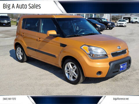 2011 Kia Soul for sale at Big A Auto Sales Lot 2 in Florence SC