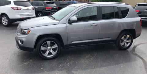 2017 Jeep Compass for sale at N & J Auto Sales in Warsaw IN