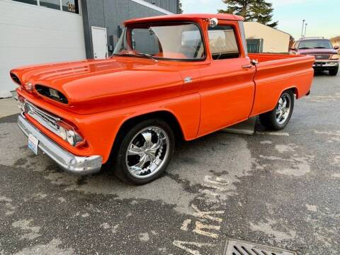 1960 Chevrolet C-10 Fleetside PickUp for sale at Drager's International Classic Sales in Burlington WA